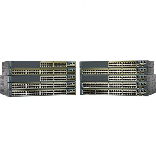 Cisco Catalyst WS-C2960S-24PD-L Stackable Ethernet Switch