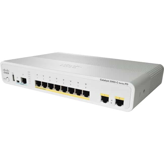 Cisco Catalyst 2960C Switch 8 FE