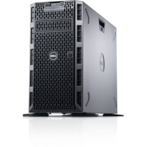 Dell PowerEdge T620 5U Tower Server - 1 x Intel Xeon E5-2609 v2 Quad-core (4 Core) 2.50 GHz - 4 GB Installed DDR3 SDRAM - 500 GB (1 x 500 GB) HDD - 6Gb/s SAS Controller - 1 x 495 W