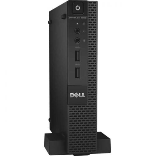Dell OptiPlex 9020 Desktop Computer - Intel Core i7 i7-4785T 2.20 GHz - 8 GB DDR3 SDRAM - 500 GB HDD - Windows 7 Professional 64-bit - Micro PC - Black