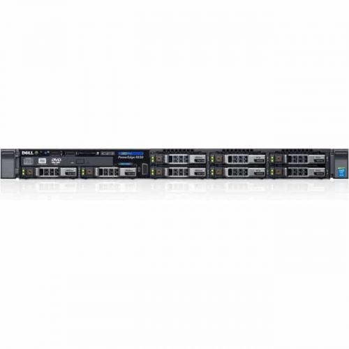 Dell PowerEdge R630 1U Rack Server - Intel Xeon E5-2680 v3 Dodeca-core (12 Core) 2.50 GHz - 16 GB Installed DDR4 SDRAM - 300 GB HDD - 12Gb/s SAS, Serial ATA/600 Controller - 0, 1, 5, 6, 10, 50, 60 RAID Levels