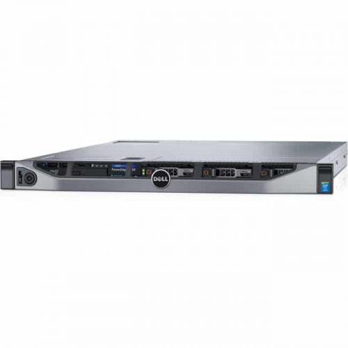 Dell PowerEdge R630 1U Rack Server - 1 x Intel Xeon E5-2640 v4 Deca-core (10 Core) 2.40 GHz - 16 GB Installed DDR4 SDRAM - 240 GB (2 x 120 GB) Serial ATA/600 SSD - 12Gb/s SAS, Serial ATA/600 Controller - 0, 1, 5, 6, 10, 50, 60 RAID Levels - 2 x 750 W
