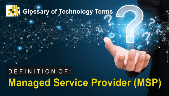 define managed service provider MSP